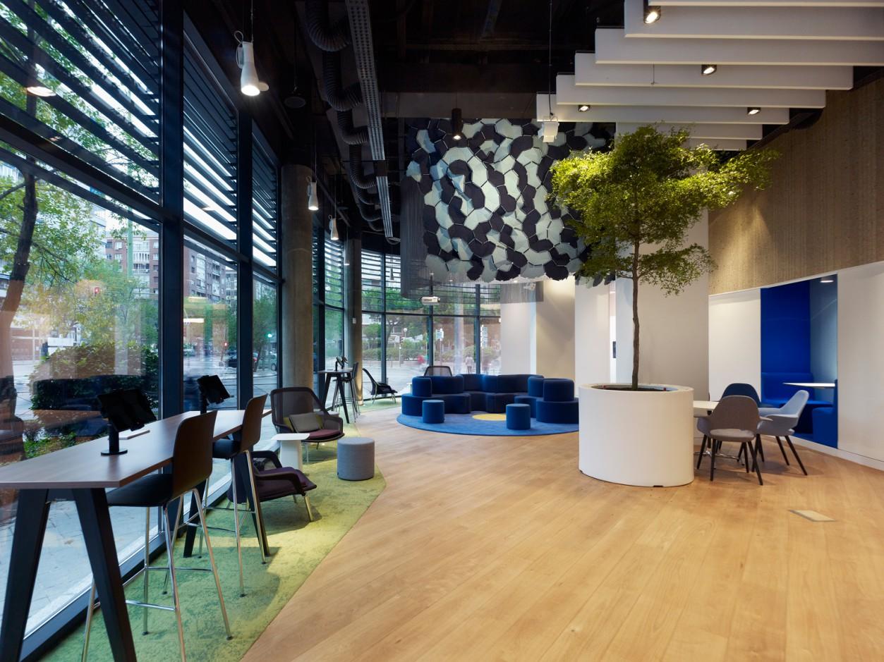 Reforma de planta baja de Edificio AEGON, Madrid