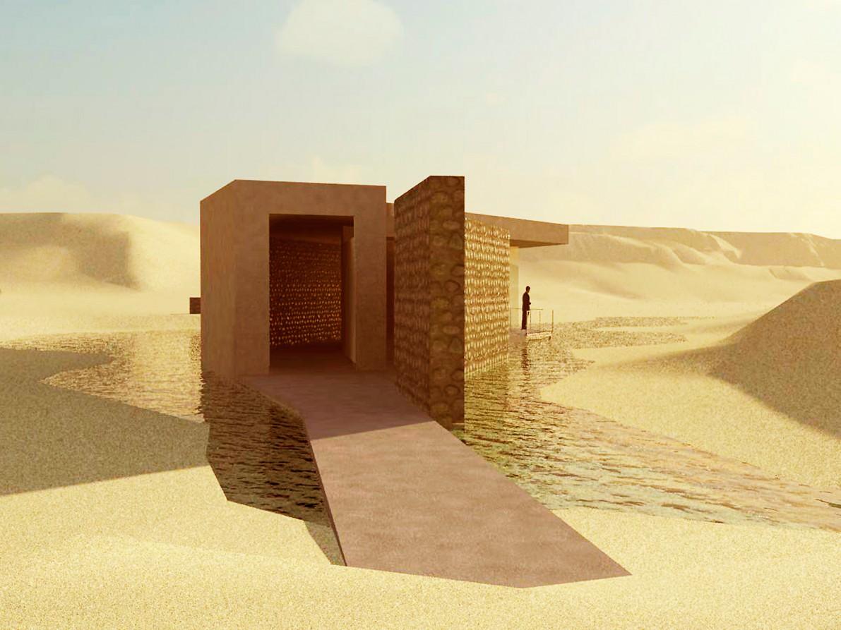 Centros de interpretación en el Jardín Botánico de Omán, Muscat