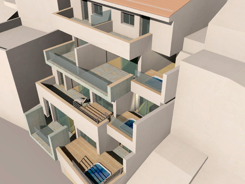 2+2 apartamentos y duplex, Bédar