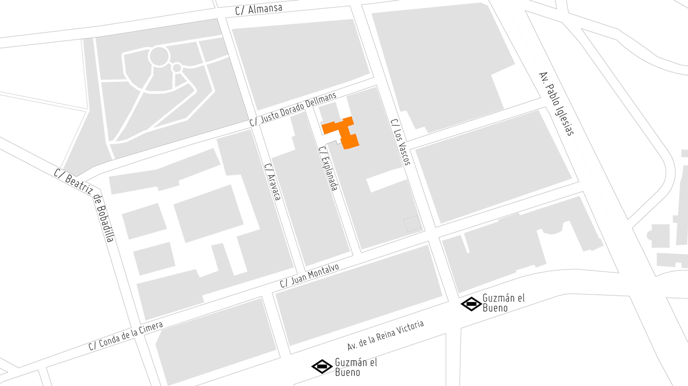 mapa mvn arquitectos