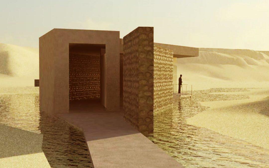 Centros de interpretación en el Jardín Botánico de Omán